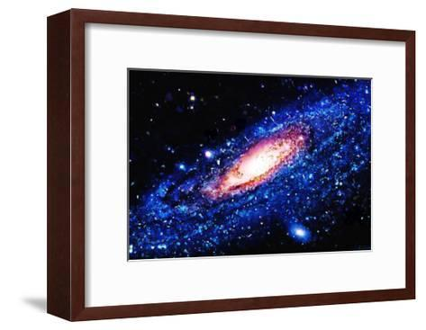 Painting Of Galaxy-Tonygers-Framed Art Print