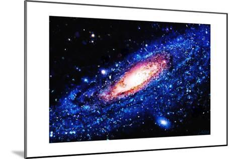 Painting Of Galaxy-Tonygers-Mounted Art Print