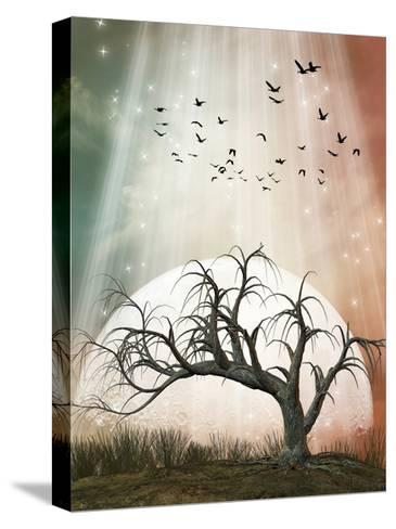 Fantasy Landscape-justdd-Stretched Canvas Print