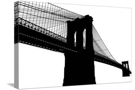 Brooklyn Bridge- vladmark-Stretched Canvas Print