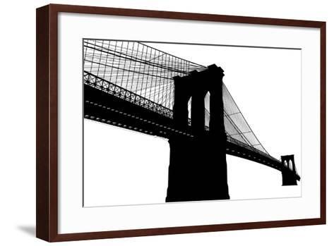 Brooklyn Bridge- vladmark-Framed Art Print