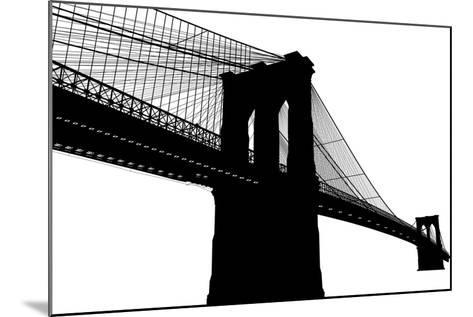 Brooklyn Bridge- vladmark-Mounted Art Print