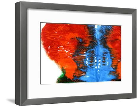 Rorschach Test-nito-Framed Art Print