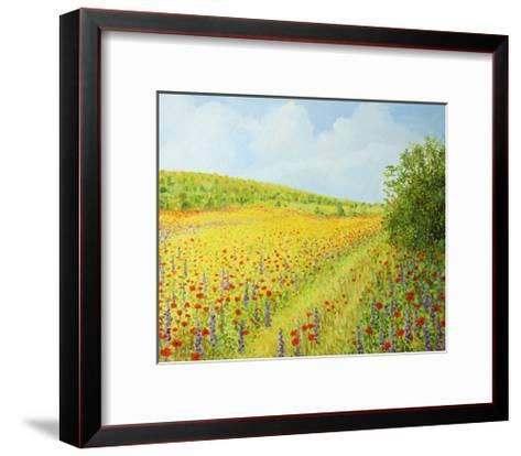 Sea Of Blossom-kirilstanchev-Framed Art Print