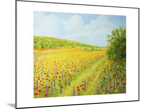Sea Of Blossom-kirilstanchev-Mounted Art Print