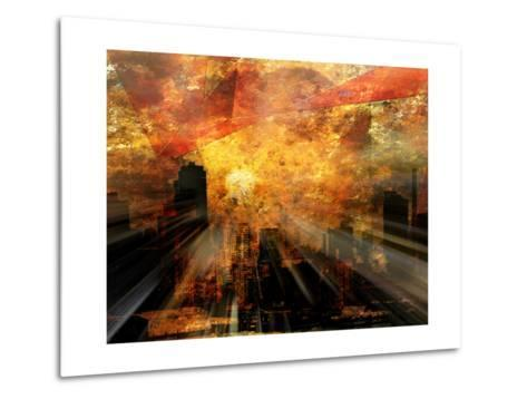 Nyc Sunlight-rolffimages-Metal Print