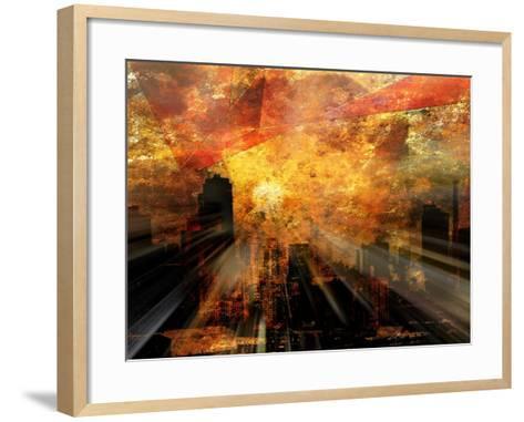 Nyc Sunlight-rolffimages-Framed Art Print