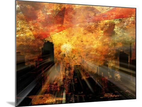 Nyc Sunlight-rolffimages-Mounted Art Print