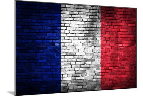 France Flag-kwasny221-Mounted Art Print