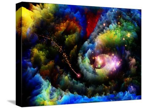 Forgotten Fractal Dreams-agsandrew-Stretched Canvas Print