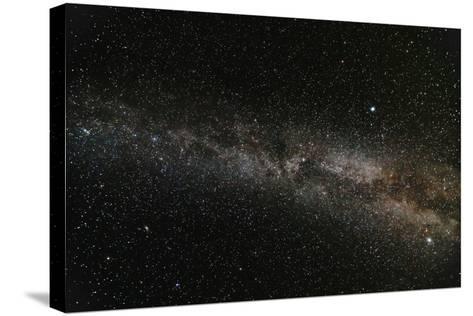 Milky Way Galaxy-fotosutra.com-Stretched Canvas Print