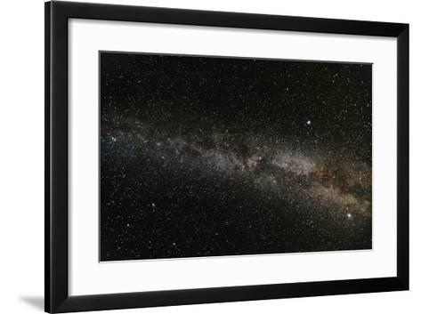 Milky Way Galaxy-fotosutra.com-Framed Art Print