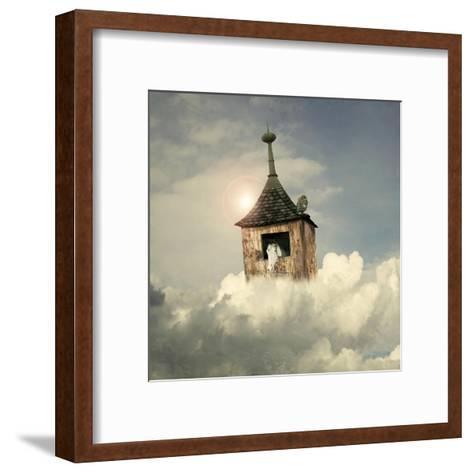 Under The Clouds-ValentinaPhotos-Framed Art Print