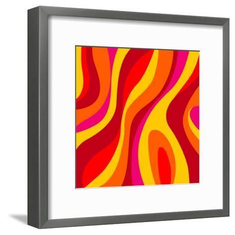 Sixties Design-UltraPop-Framed Art Print