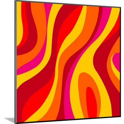Sixties Design-UltraPop-Mounted Art Print