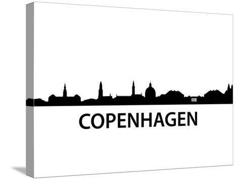 Skyline Kopenhagen-unkreatives-Stretched Canvas Print