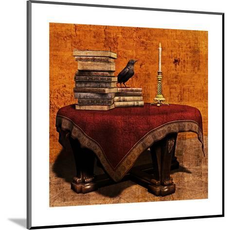 Mysterious Table-Petrafler-Mounted Art Print