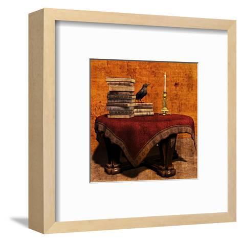 Mysterious Table-Petrafler-Framed Art Print