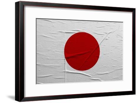 Japan Flag-igor stevanovic-Framed Art Print