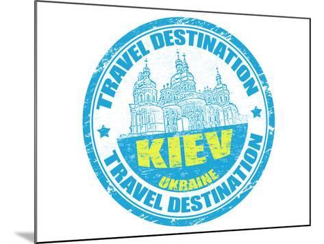 Kiev Stamp-radubalint-Mounted Art Print
