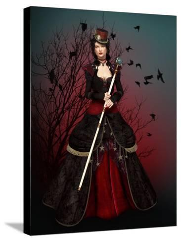 Lady Vlada-Atelier Sommerland-Stretched Canvas Print