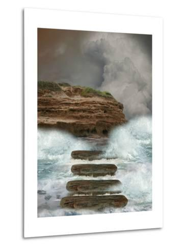 Storm In The Ocean-justdd-Metal Print