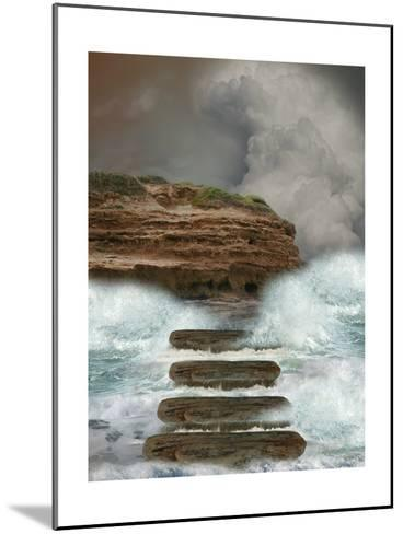 Storm In The Ocean-justdd-Mounted Art Print