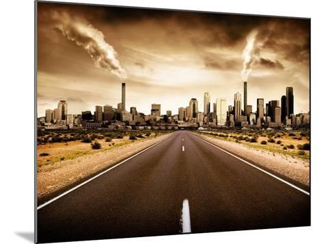 Sign Of The Times-kwest19-Mounted Art Print