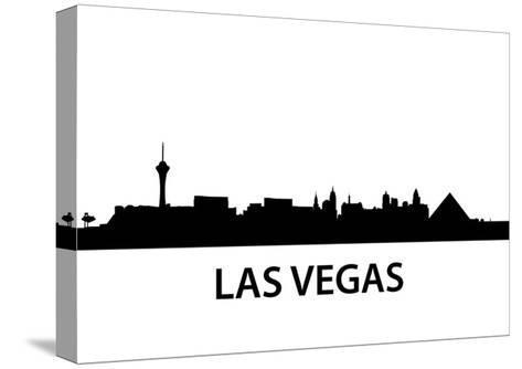 Skyline Las Vegas-unkreatives-Stretched Canvas Print