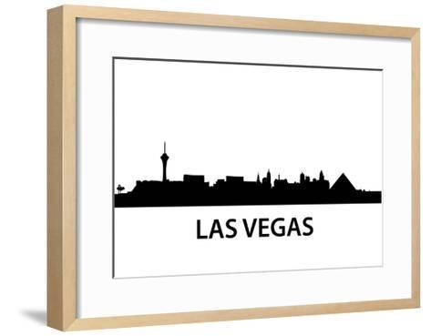 Skyline Las Vegas-unkreatives-Framed Art Print