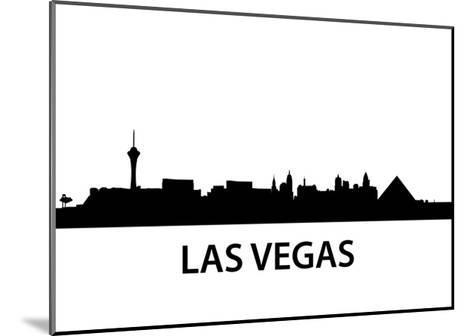 Skyline Las Vegas-unkreatives-Mounted Art Print