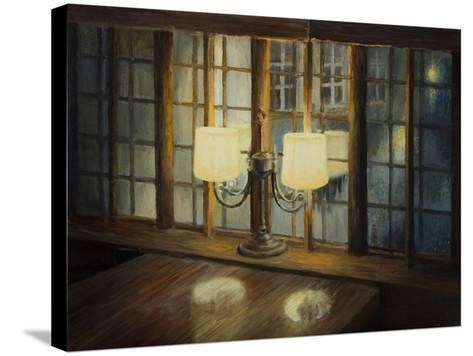Evening For Two-kirilstanchev-Stretched Canvas Print