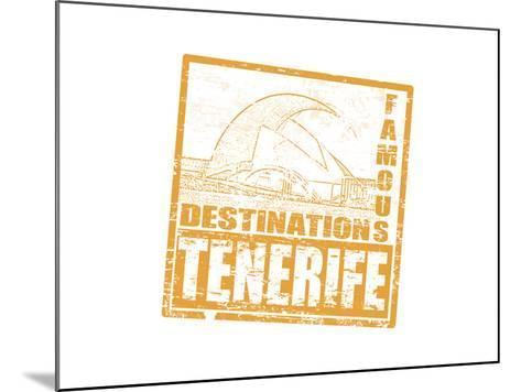 Tenerife Stamp-radubalint-Mounted Art Print