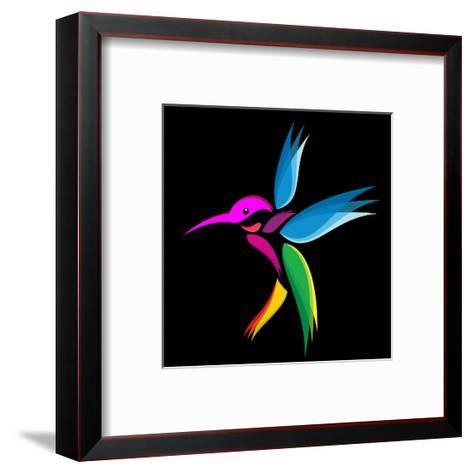 Hummingbird-yod67-Framed Art Print