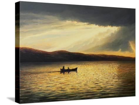 The Bay Of Silence-kirilstanchev-Stretched Canvas Print