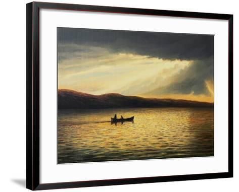 The Bay Of Silence-kirilstanchev-Framed Art Print