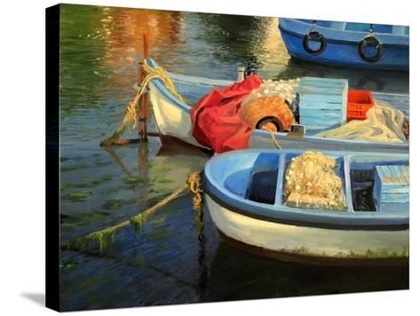 Fisherman'S Etude-kirilstanchev-Stretched Canvas Print