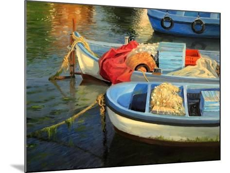 Fisherman'S Etude-kirilstanchev-Mounted Art Print