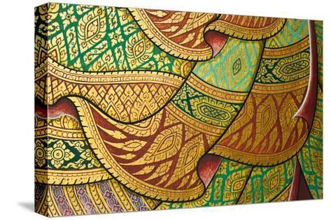 Thai Painting Art-sritangphoto-Stretched Canvas Print