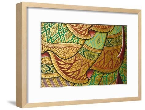 Thai Painting Art-sritangphoto-Framed Art Print