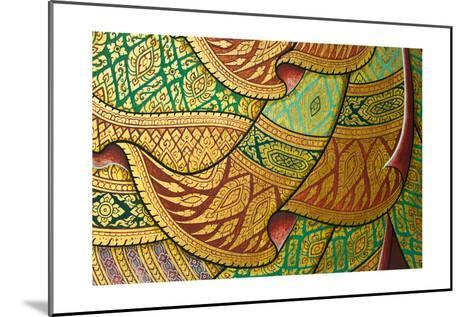 Thai Painting Art-sritangphoto-Mounted Art Print