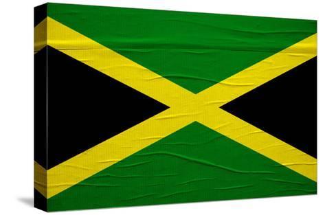Jamaican Flag-igor stevanovic-Stretched Canvas Print
