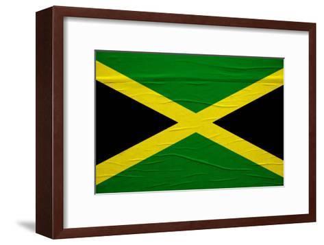 Jamaican Flag-igor stevanovic-Framed Art Print