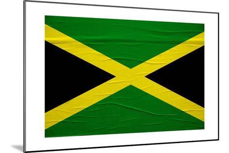 Jamaican Flag-igor stevanovic-Mounted Art Print