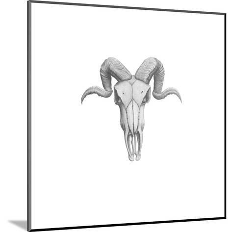 Ram Skull-Dmitry Gorbatovskiy-Mounted Art Print