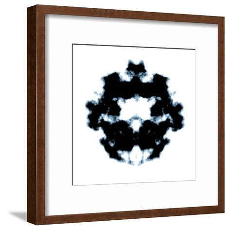 Rorschach-magann-Framed Art Print