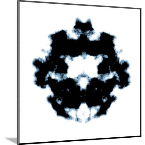 Rorschach-magann-Mounted Art Print
