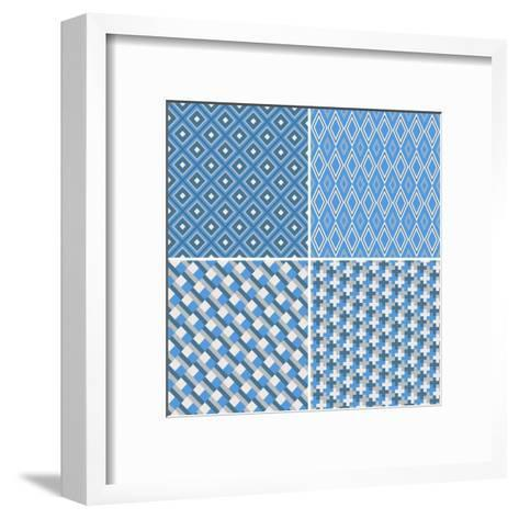 Seamless Pattern-Shonkar-Framed Art Print