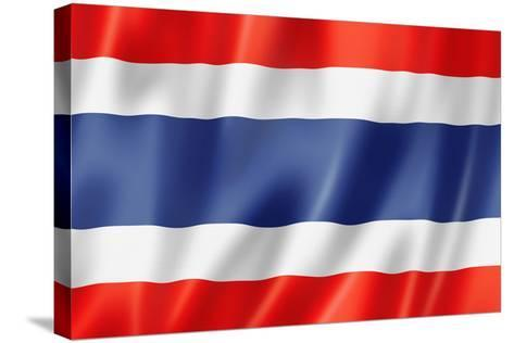 Thai Flag-daboost-Stretched Canvas Print