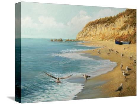 The Beach-kirilstanchev-Stretched Canvas Print